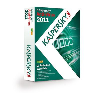 Kaspersky Anti-Virus 2011 Kaspersky Anti-Virus 2011 - Licence 1 an 1 poste (français, WINDOWS)