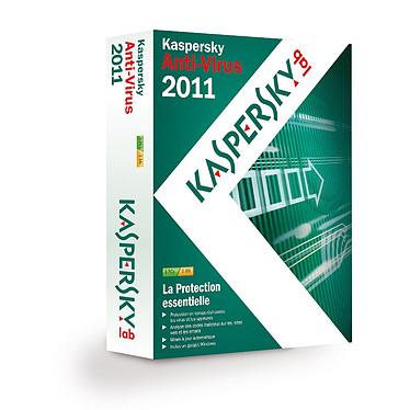 Kaspersky Anti-Virus 2011 Kaspersky Anti-Virus 2011 - Licence 1 an 3 postes (français, WINDOWS)