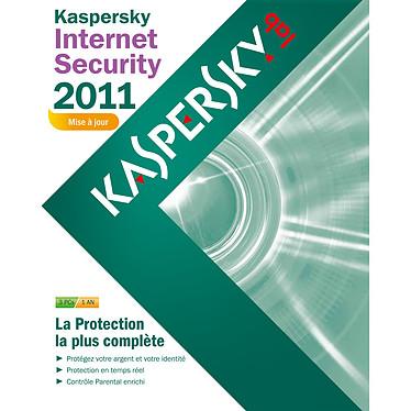 Kaspersky Internet Security 2011 Kaspersky Internet Security 2011 - Mise à jour - Licence 1 an 3 postes (français, WINDOWS)