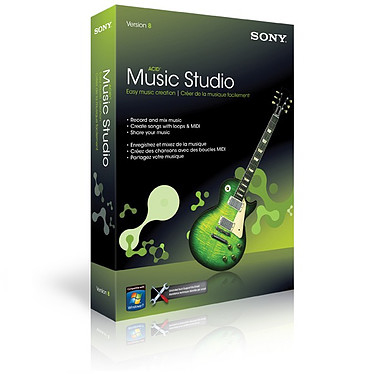 Sony  Acid Music Studio 8 Sony  Acid Music Studio 8 (français, WINDOWS)