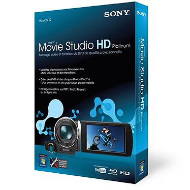 Sony Vegas Movie Studio HD 10 Platinum Edition Sony Vegas Movie Studio HD 10 Platinum Edition (français, WINDOWS)