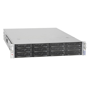 Netgear ReadyNAS 4200 12 To (12x 1 To) Serveur NAS 12 baies avec 12 disques 1 To - Rack 2U