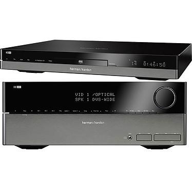 Harman Kardon HK 3490 + HD 980 Amplificateur-Tuner stéréo 2 x 120 W + Platine CD compatible MP3 et WMA