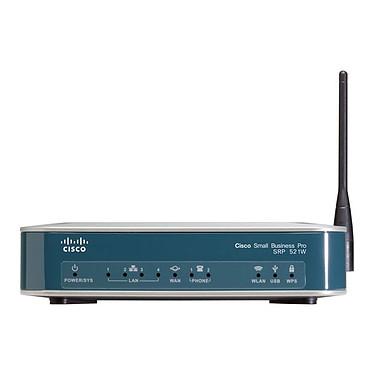 Cisco Small Business Pro SRP 521W Cisco Small Business Pro SRP 521W - Plateforme prête pour les services (VOIP,  VPN, switch, 3G) Wi-Fi N 300 Mbps