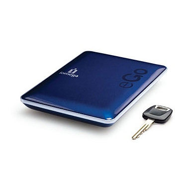 Iomega eGO Portable Hard Drive Compact Edition 500 GB USB 2.0 Bleu Iomega eGO Portable Hard Drive Compact Edition 500 Go Bleu USB 2.0 (garantie constructeur 2 ans)