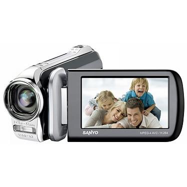 Sanyo Xacti VPC GH1 Argent Sanyo Xacti VPC GH1 Argent - Caméscope Full HD Carte mémoire