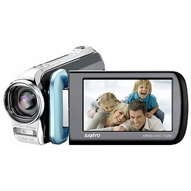 Sanyo Xacti VPC GH1 Bleu Sanyo Xacti VPC GH1 Bleu - Caméscope Full HD Carte mémoire