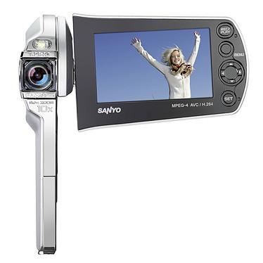 Sanyo Xacti CS1 Argent Sanyo Xacti CS1 Argent - Caméscope Full HD Carte mémoire