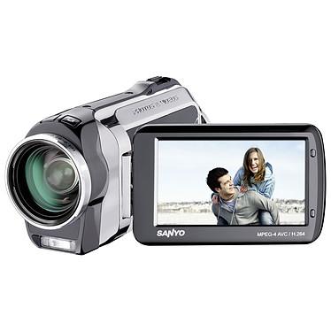 Sanyo Xacti VPC SH1 Noir Sanyo Xacti VPC SH1 Noir - Caméscope Full HD Carte mémoire