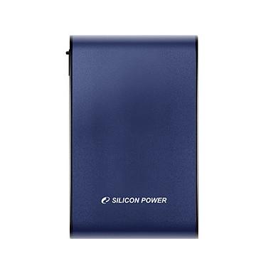 """Silicon Power Armor A80 500 Go Bleu (USB 3.0) Disque dur externe 2.5"""" sur port USB 3.0 compatible USB 2.0"""