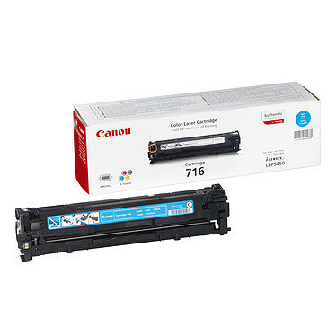 Canon 716C - Toner Cyan Canon 716C - Toner Cyan (pour i-SENSYS LBP5050/8050)