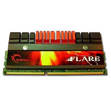 G.Skill FLARE Series 4 Go (2x 2Go) DDR3 1800 MHz G.Skill FLARE Series 4 Go (kit 2x 2 Go) DDR3-SDRAM PC3-14400 - F3-14400CL9D-4GBFLS (garantie 10 ans par G.Skill)