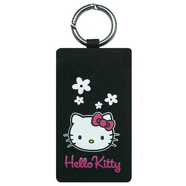 Hello Kitty - Chaussette fleur Hello Kitty (coloris noir) Hello Kitty - Chaussette fleur Hello Kitty (coloris noir)