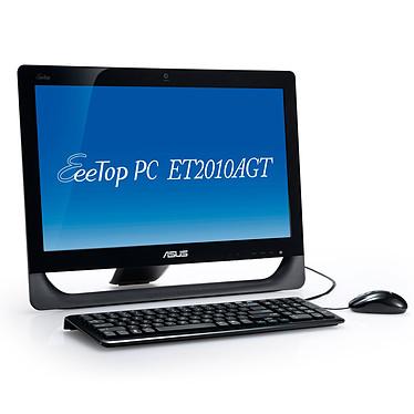 "ASUS EeeTop PC ET2010AGT-B016E ASUS EeeTop PC ET2010AGT - AMD Athlon II X2 250u 4 Go 500 Go ATI Radeon HD5470 LCD 20"" Tactile Graveur DVD Wi-Fi N Webcam Windows 7 Premium 64 bits"