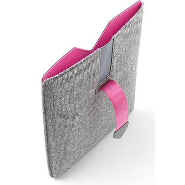 Dicota PadCover (gris/rose) Etui de protection pour iPad (coloris gris/rose)