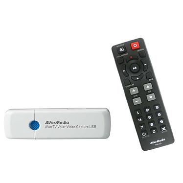AVerMedia AVerTV Volar Video Capture USB AVerMedia AVerTV Volar Video Capture USB - Clé USB Tuner TNT HD avec fonction d'acquisition vidéo