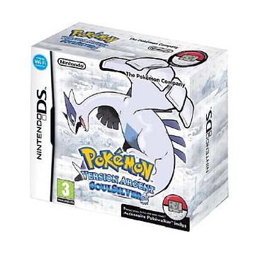 Pokémon version Argent : SoulSilver (Nintendo DS)  Pokémon version Argent : SoulSilver (Nintendo DS)