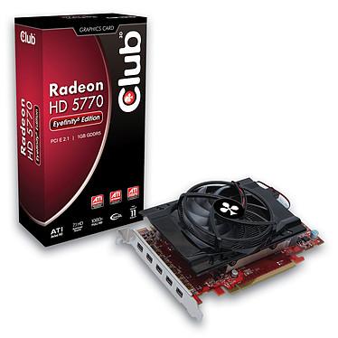 Club 3D Radeon HD 5770 Eyefinity 5 Edition 1 GB Club 3D Radeon HD 5770 Eyefinity 5 Edition - 1 Go Penta Mini DisplayPort - PCI-Express (ATI Radeon HD 5770)