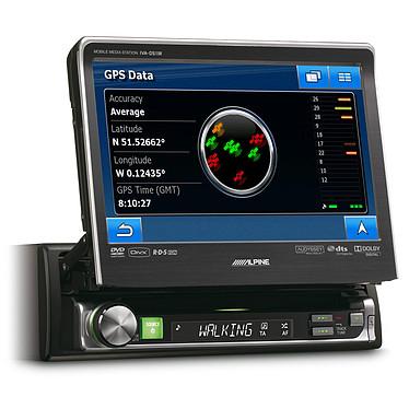 Alpine IVA-D511R Alpine IVA-D511R Vert / ambre  - Lecteur multimédia 1DIN avec écran 7 pouces, contrôle iPod et Port USB