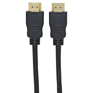 Bluestork Câble HDMI 1.3 Connecteurs plaqués Or 1.5 m Bluestork BS-HDMI-MM-ECO - Câble HDMI 1.3 - Connecteurs plaqués Or - 1.5 m