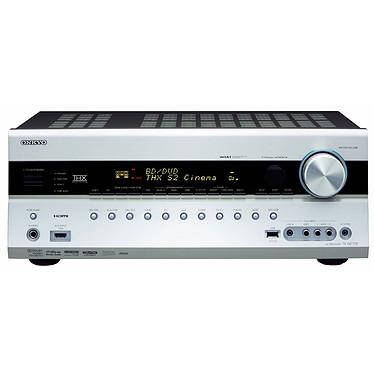 Onkyo TX-NR708 Silver Onkyo TX-NR708 Silver - Ampli-tuner Home Cinema 3D Ready 7.2 THX Select2 Plus DLNA avec HDMI 1.4 et décodeurs HD