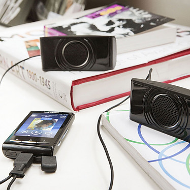 Avis Sony Ericsson Xperia X10 Mini Noir + Enceintes MS450