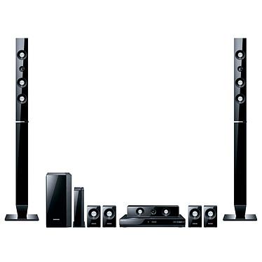 Samsung HT-C6930W Samsung HT-C6930W - Ensemble Home Cinéma 3D 7.1 DLNA avec sortie HDMI 1.4 1080p et Station d'accueil iPod