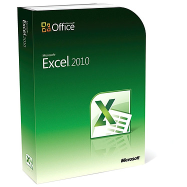 Microsoft Excel 2010 Version Boîte Microsoft Excel 2010 - Version Boîte avec DVD (français, WINDOWS)