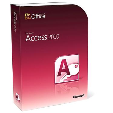 Microsoft Access 2010 Version Boîte Microsoft Access 2010 - Version Boîte avec DVD (français, WINDOWS)