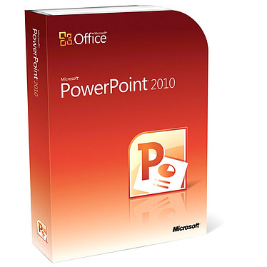 Microsoft PowerPoint 2010 Version Boîte Microsoft PowerPoint 2010 - Version Boîte avec DVD (français, WINDOWS)