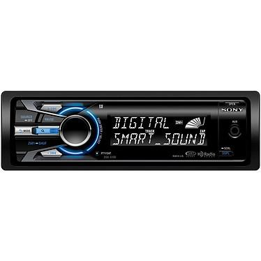 Sony DSX-S100 Sony DSX-S100 - Autoradio MP3 avec port USB, entrée auxiliaire et fonction iPod/iPhone (4x 52W)