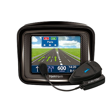 TomTom Rider Pro Europe (45 pays d'Europe) TomTom Rider Pro Europe - GPS 45 pays d'Europe Ecran 3.5""