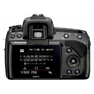 Sony DSLR-A450L + Objectif SAM-1855 pas cher