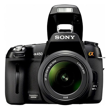 Acheter Sony DSLR-A450L + Objectif SAM-1855