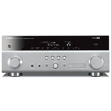 Yamaha RX-V767 Titane Yamaha RX-V767 Titane - Ampli-tuner Home Cinema 7.2 3D Ready avec HDMI 1.4 et Décodeurs HD