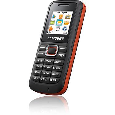 Samsung E1130 Noir/Orange Téléphone 2G baroudeur certifié IP54
