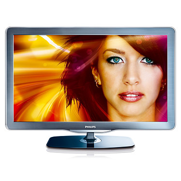 "Philips 46PFL7605H Téléviseur LED Full HD 46"" (117 cm) 16/9 - 1920 x 1080 pixels - Tuner TNT HD - 100 Hz - HDTV 1080p - Port USB - DLNA"