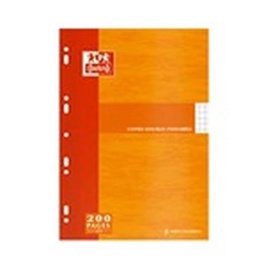 Clairefontaine Copies doubles A4 perforées - étui de 50 feuilles / 200 pages blanc 90g Clairefontaine Copies doubles A4 perforées - étui de 50 feuilles / 200 pages blanc 90g