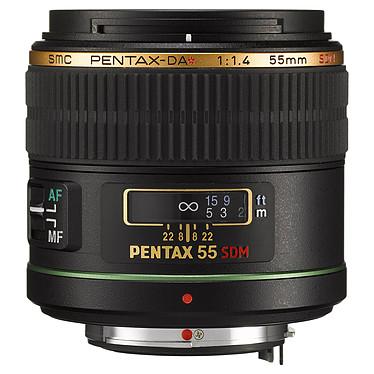 Pentax DA* 55mm f/1,4 SDM Objectif expert