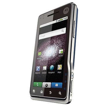 Motorola Milestone XT720 bleu/argent Motorola Milestone XT720 bleu/argent - Smartphone Tactile sous Android