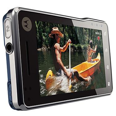 Motorola Milestone XT720 bleu/argent pas cher