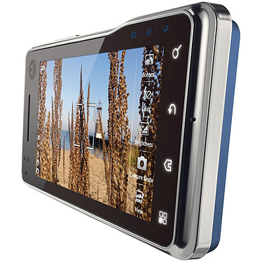 Acheter Motorola Milestone XT720 bleu/argent