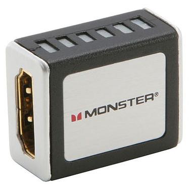 Monster Cable Coupleur HDMI Connecteurs plaqués Or Monster Cable - Coupleur HDMI Femelle/Femelle - Connecteurs plaqués Or