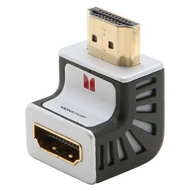 Monster cable Adaptateur HDMI coudé 90° Connecteurs plaqués or Monster cable - Adaptateur HDMI coudé 90° - Connecteurs plaqués or