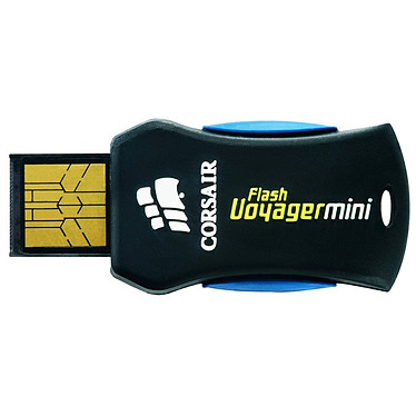 Corsair Flash Voyager Mini 8 Go Corsair Flash Voyager Mini - Clé USB 2.0 8 Go - Produit reconditionné* (Garantie 1 an)