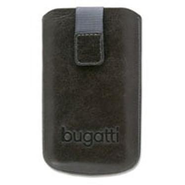 Bugatti SlimCase M Bugatti SlimCase M - Etui en cuir gris universel (pour téléphones portables)
