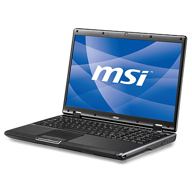 "MSI CR600-244 MSI CR600-244 - Intel Pentium Dual-Core T4500 4 Go 320 Go 16"" LCD Graveur DVD Wi-Fi N Webcam Windows 7 Professionnel ou XP Pro (garantie constructeur 2 ans)"