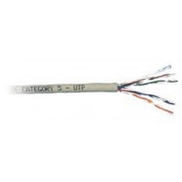 Câble Multibrin RJ45 catégorie 5e UTP 1000 mètres Câble Multibrin RJ45 catégorie 5e UTP 1000 mètres (Beige)
