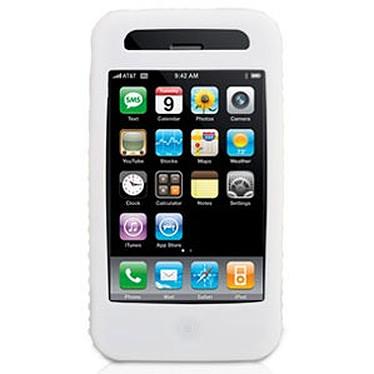 Griffin FlexGrip Griffin FlexGrip - Housse en silicone blanche (pour iPhone 3G)