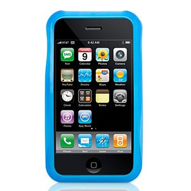 Griffin Wave Griffin Wave - Housse en silicone bleue (pour iPhone 3G)